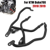 Motorcycle engine bumper cover For KTM Duke790 2018 2019 Duke 790 Crash Bars Engine Bumper Guard Stunt Cage Falling Protector