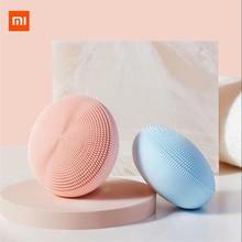 Stok Xiaomi Mijia Sonic temizleme aleti gözenek temizleme antibakteriyel ultrasonik elektrikli yüz yıkama aracı temiz siyah
