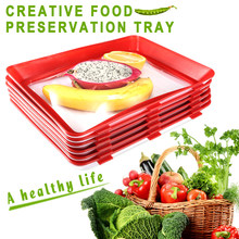 1PC Creative Food Preservation Tray Storage Container Set Kitchen Tools Hot Selling JHS