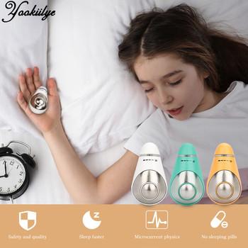 Pomoc w leczeniu zaburzeń snu Instrument do bezsenności snu gospodarstwa nadmiarowy ciśnienia szybkie urządzenie snu hipnoza Instrument ciało relaks opieki zdrowotnej tanie i dobre opinie YOOKIILYE CN (pochodzenie) BODY Microcurrent Sleep Aid Device Sleep Snoring Sleep Aid Fast Sleep
