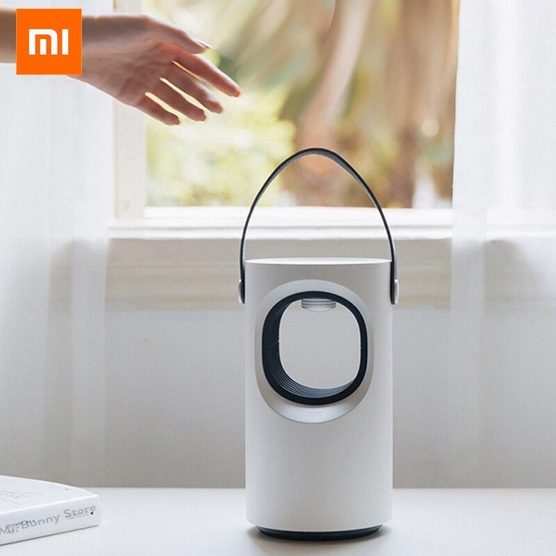 Xiaomi Sanlife automatyczny fotokatalizator urządzenie przeciw komarom niski wyciszenie niebieski środek odstraszający komary komary lampa przeciwko komarom Smart HomeInteligentny pilot zdalnego sterowaniaElektronika użytkowa -