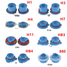Headlight-Lamp Base-Adapter Sockets Bulb Retainer-Holder LED Car 2pcs H3/h1