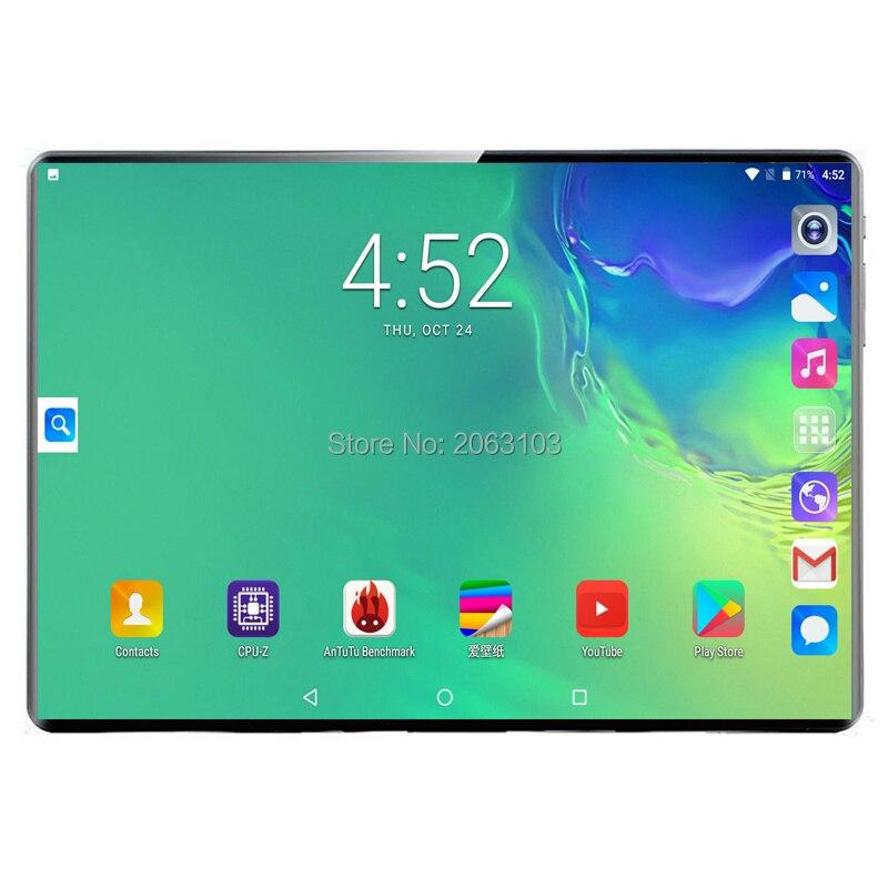 Оригинальный телефонный звонок, 10 дюймов, планшетный ПК, Android 9,0, 4G, 10 ядер, 8 Гб ram, 128 ГБ rom, 1920*1200, ips планшеты, 10 дюймов, Детские планшеты