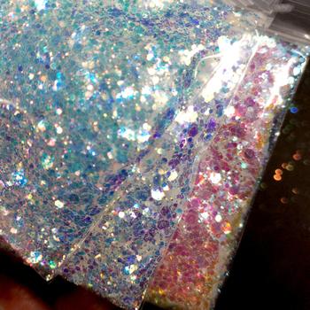 0 2mm 1mm 2mm 3mm mix brokat do twarzy i ciała | fioletowy niebieski metaliczny brokat poliestrowy | makijaż z brokatem do paznokci | Tumbler Glitter Craft tanie i dobre opinie MAFANAILS 1bag shinny sequins TS2354 10g bag Paznokci brokat 10g bag loose glitter Face Body Glitter Polyester mix 0 2mm 1mm 2mm 3mm
