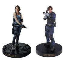 Toy Game-Statue Action-Figures Kennedy 30CM Leon Jill Valentine Model-Doll Collection
