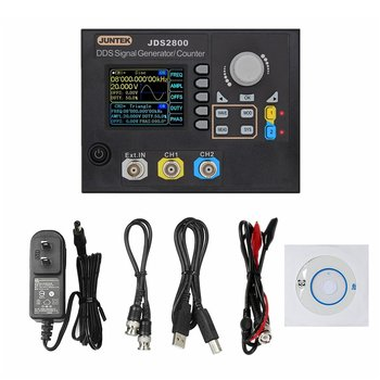 JDS2800-15M 15MHZ Signal Generator Digital Control Dual-channel DDS Function Signal Generator Frequency Meter Arbitrary Wave