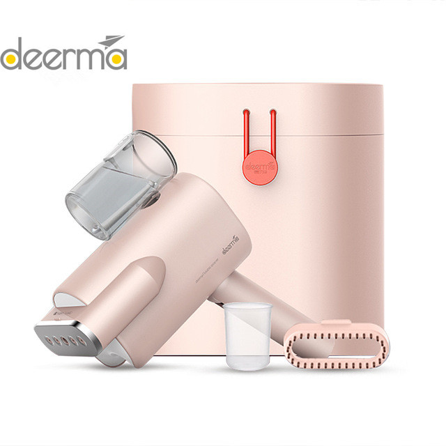 2019 New Deerma 220v Handheld Garment Steamer Household Portable Steam Iron Clothes Brushes For Home Appliances