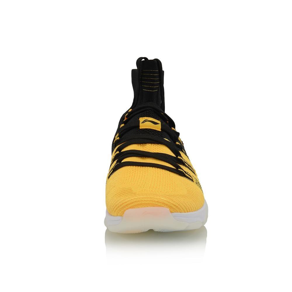 Li-Ning Men NO BOUNDARIES Cushion Training Shoes Mono Yarn Breathable High-Cut LiNing Sport Shoes Sneakers AFJP027 YXX064 36