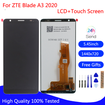 Original Display For ZTE Blade A3 2020 LCD Display Touch Screen Digitizer Assembly For ZTE A3 2020 Screen LCD Display Free Tools for zte blade x7 display v6 t660 t663 lcd monitor touch screen digitizer screen accessories for zte blade x7 v6 z7 lcd tools