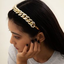 Fashion rhinestone headband women's simple luxury headband retro metal headband new 2021 hair accessories jewelry gift wholesale