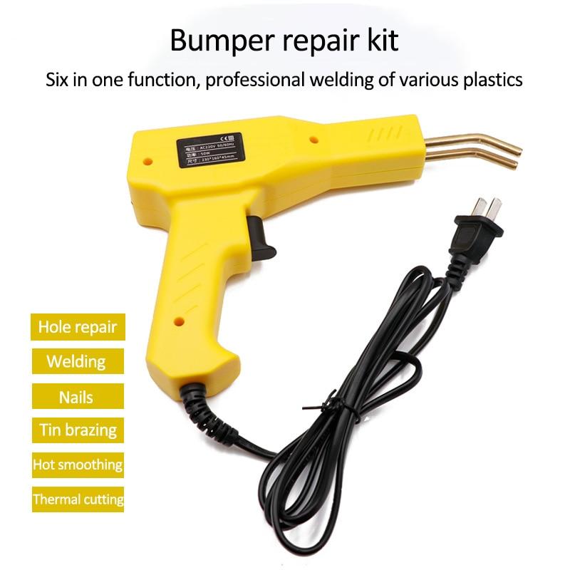 Tools : Handy Plastics Welders Garage Tools Hot Staplers Machine Staple PVC Repairing Machine Car Bumper Repairing Stapler Welding Tool