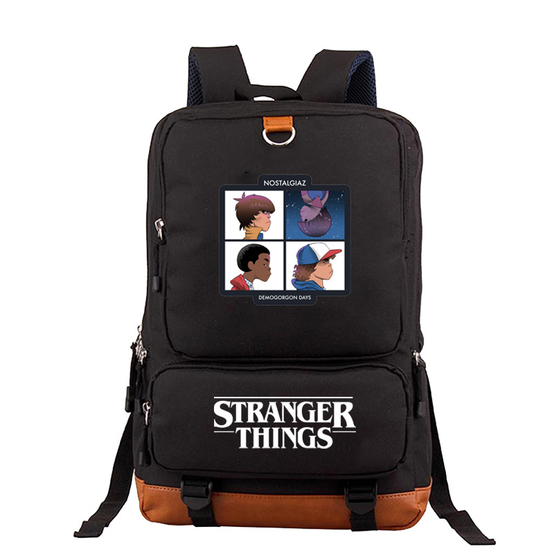 Fashion Stranger Things Backpack High Quality School Bag Casual Teenagers Student Book Travel Laptop Bags