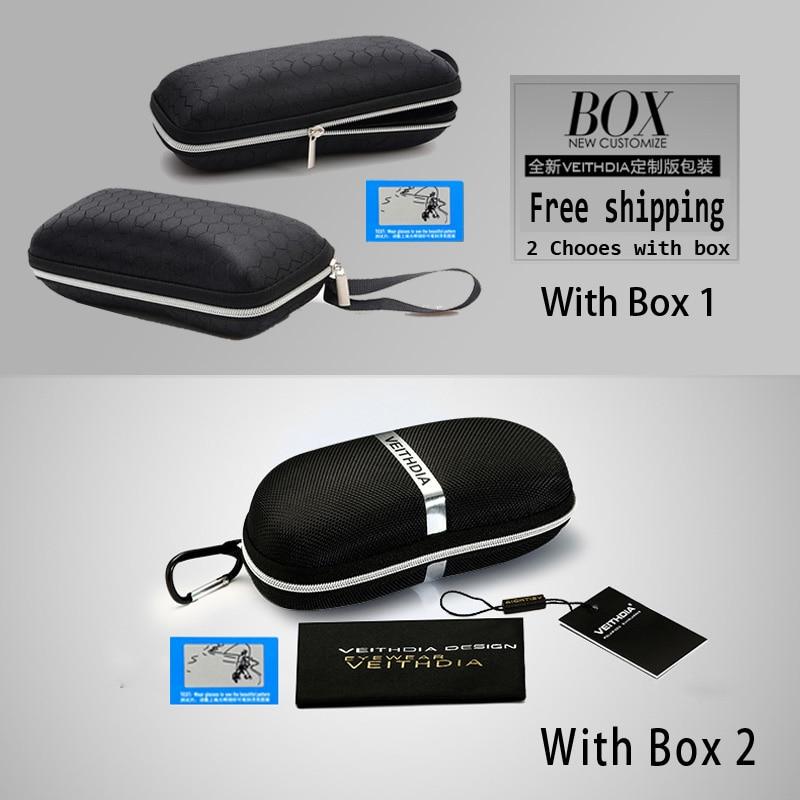 VEITHDIA Diseñador de la marca de moda Aluminio Magnesio Conducción - Accesorios para la ropa - foto 6