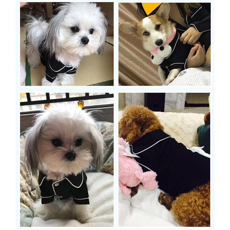 XS XL Pet Dog Pajamas Winter Dog Jumpsuit Clothes Cat Puppy Shirt Fashion Pet Coat Clothing For Small Dogs French Bulldog Yorkie in Jumpsuits Rompers from Home Garden