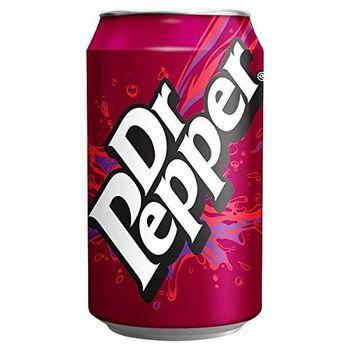 Dr Pepper 330ml (Pack de 24 x 330 ml)