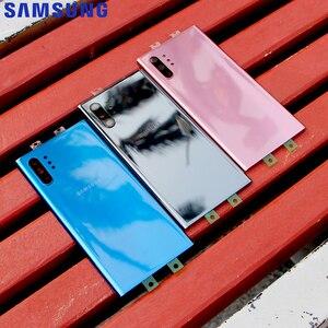 Image 3 - מקורי סמסונג זכוכית שיכון כריכה האחורית לסמסונג גלקסי הערה 10 הערה X Note10 בתוספת Note10 + טלפון אחורי סוללה דלת