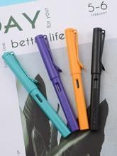 Новый перьевая ручка Jinhao 619 ручек молочного цвета Пластик матовая ручка Stylo шлейфа Vulpen Stilografica канцелярский подарок для студента ручка