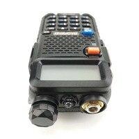 מכשיר הקשר 2pcs Baofeng DM-5R מכשיר הקשר Tier1 & 2 Professional Band Dual DMR רדיו דיגיטלי אנלוגי Dual Mode Dual זמן חריץ Walky טוקי (4)