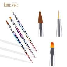 3 шт/компл кисти для ногтей ручка лазерный дизайн инструменты
