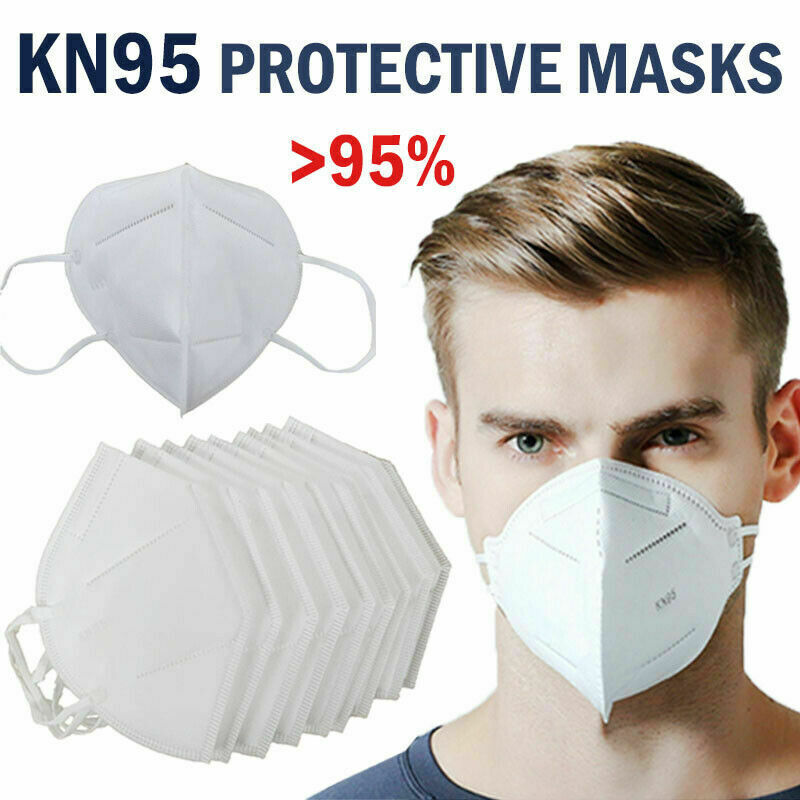2020 2Pcs Lot Activated Carbon Anti-smog Dust-proof KN95 Respirator Protective Mask