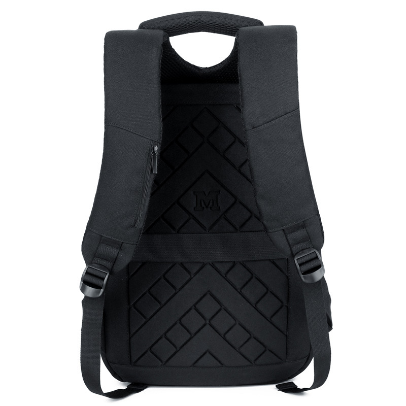 Anti theft backpack USB rechargeable business computer bag waterproof travel backpack for CUHK students - 5