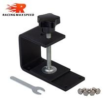 Suporte de aço inoxidável preto braçadeira fixa para freio de mão usb para jogo de corrida sim HB 03 BK