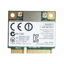 AR9462 AR5B22 WB222 Половина мини PCIe 300 Мбит/с + Bluetooth4.0 WLAN Wifi беспроводная карта