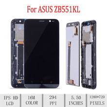 Original For ASUS Zenfone Go TV ZB551KL X013D LCD Display Touch Screen Digitizer Assembly For Asus ZB551KL Display with Frame asus asus view flip для zenfone go zb551kl g550kl