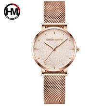 Montre bracelet de luxe pour femmes, bracelet à Quartz, marque japonaise, acier inoxydable, cadran blanc argenté, étanche
