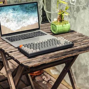 Image 4 - Keychron K2 C V2 Drahtlose Bluetooth USB Mechanische Tastatur Aluminium Rahmen, kompakte 84 Tasten RGB Hintergrundbeleuchtung N Key Rollover
