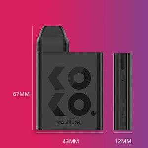 Image 4 - New Uwell Caliburn KOKO Pod System Kit Flavor Focused Vape 520mAh Battery 2mL Cartridge 11W Electronic Cigarette Vaporizer