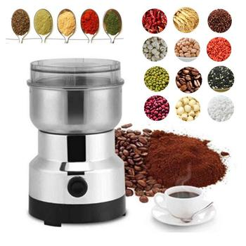 Electric Coffee Grinder Electric Kitchen Cereals Nuts Beans Spices Grains Grinder Machine Multifunctional Home Coffee Grinder 1