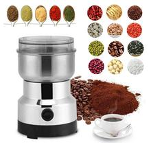 Electric Coffee Grinder Electric Kitchen Cereals Nuts Beans Spices Grains Grinder Machine Multifunctional Home Coffee Grinder