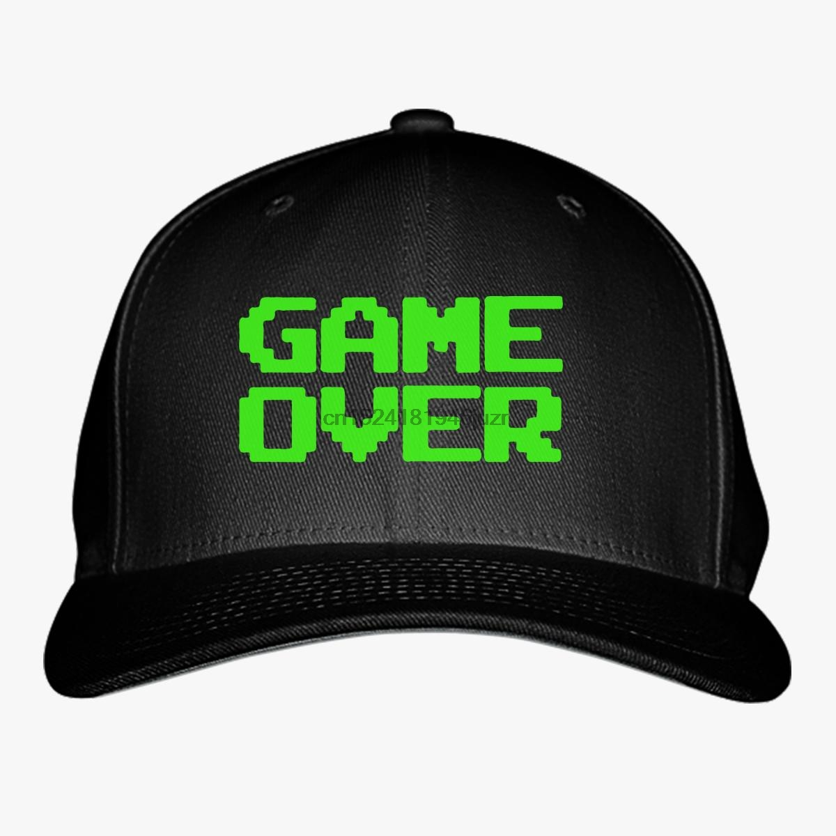 Hip Hop Baseball Caps Printed Snapback Gameover Baseball Cap