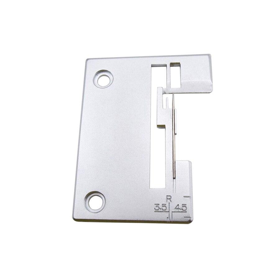Игольная пластина Pfaff Singer #550443-452 модели сергеров Pfaff 4772 игольная пластина #550443 Singer 14U544 14SH654 14SH644 14SH754