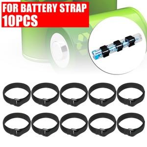 Image 3 - 10pcs/set 30cm Sticker Strap Nylon LiPo Battery Tie Strap Fastener Reusable Cable Wrap For QAV250 F450 500 550 Quadcopter