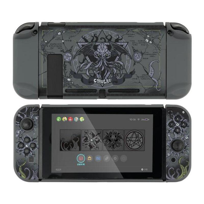 Матовый Жесткий полноразмерный чехол на заднюю панель с кристаллами для контроллера Nintendo Switch NS Lite Joy-Con, защитный чехол, ударопрочный чехол