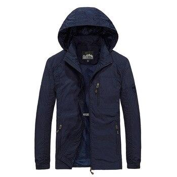 Men's Windbreaker Jackets Waterproof Military Hooded Water Proof Wind Breaker Casual Coat Male Clothing 2021 Autumn Jackets Men 6
