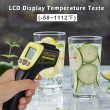 Guns Food-Thermometer Non-Touch Infrared Temperature-Testers Digital Ir-Laser Standard-Size