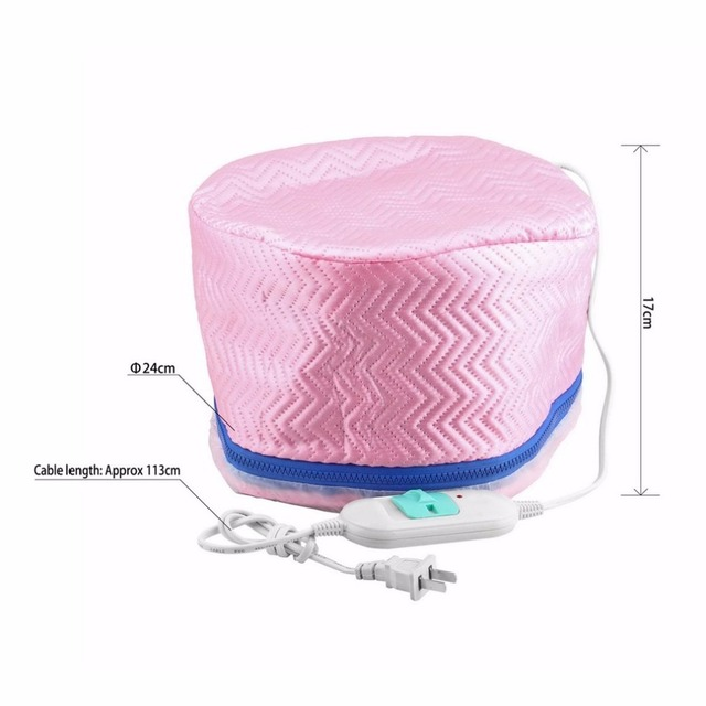 Thermostatic Electric Hair Cap Thermal Treatment Beauty Steamer SPA Nourishing Hair Care Cap Style Maker 2