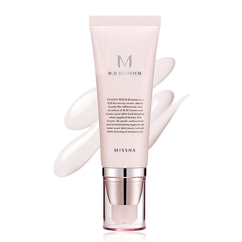 MISSHA M BB Boomer Foundation Primer 40ml Perfect Cover BB Cream Concealer Nourishing Original Korea Cosmetics Before BB Cream