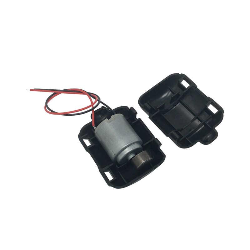 2PCS 260 Mini Micro Motore 12V 6000rpm Con Il Bianco e Nero Custodia In Plastica In Miniatura Mini di Vibrazione Micro motore Per Il FAI DA TE di Massaggio Pad