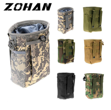 Military Molle Ammo Pouch Pack Tactical Gun Magazine Dump Drop Reloader holster bag Utility Hunting Rifle Magazine Pouch Outdoor new tactical military hunting small utility pouch pack army molle cover scheme field sundries bags outdoor sports mess briefcase