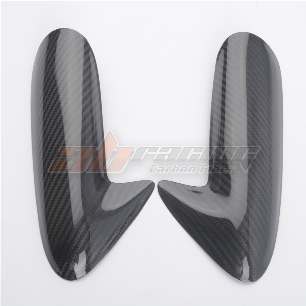 Tank Side Cover Protection For Ducati 848 1098 1198  Full Carbon Fiber 100%  Twill