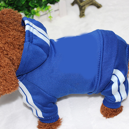 PUOUPUOU Winter Warm Pet Dog Clothes Hoodies Sweatshirt for Small Medium Dogs French Bulldog Sweet Puppy Dog Clothing XS-XXL 19