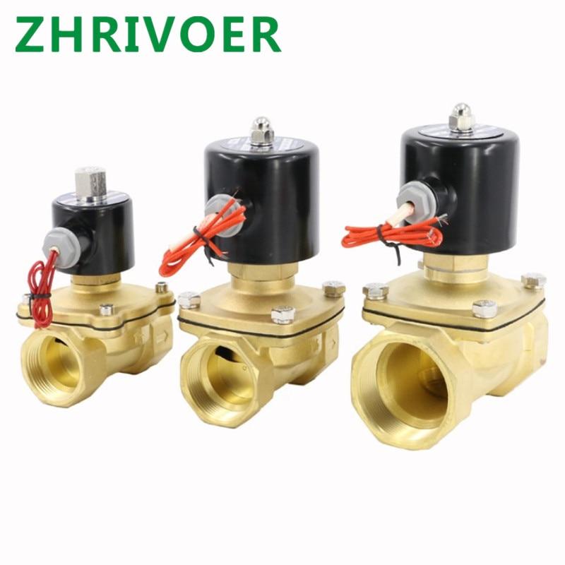Electric Solenoid Valve  Normally Opened Pneumatic For Water Oil Air 12V/24V/220V/110V 1/4