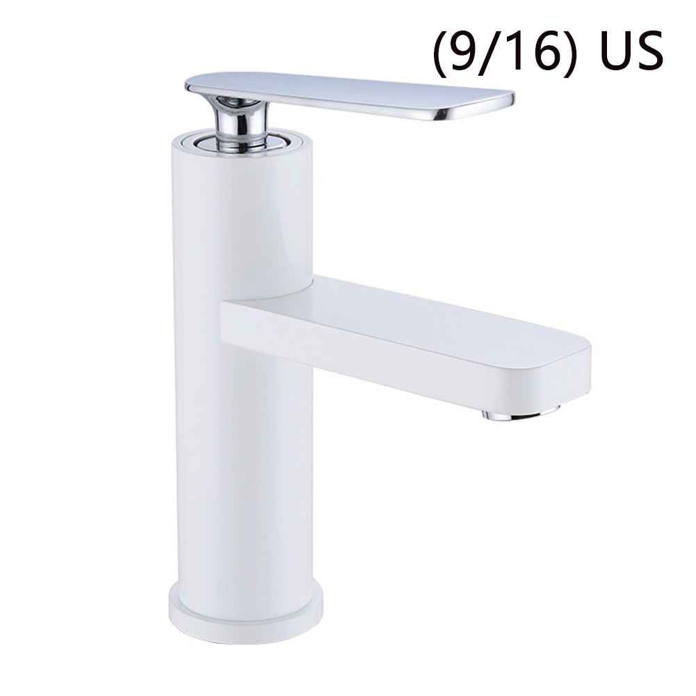 Bathroom Single Handle Accessories Free Control Mixer Kitchen Tap Cold-Hot Water Lavatory Chrome Drain Brass Sink Basin Faucet