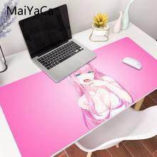 MaiYaCa-alfombrilla para ratón de dos Darling in the FranXX, tapete XXL para ordenador portátil, escritorio, pc, lol/world of warcraft