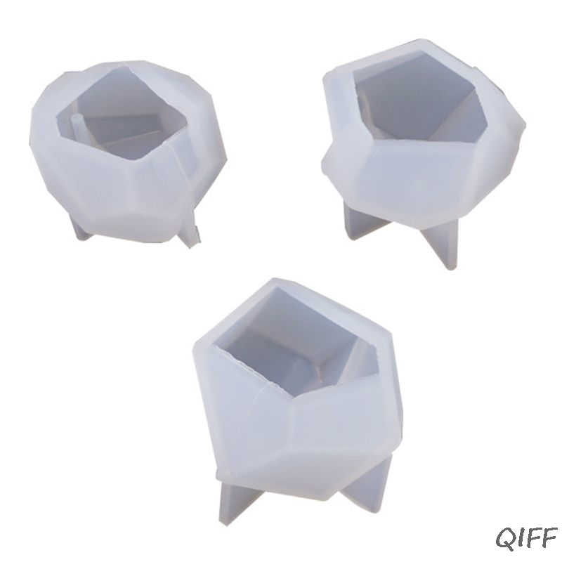 Irregular Small Cut Mold DIY Crystal Epoxy Mould Table Decoration Cone Molds Jewelry Making Accessories