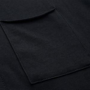 Image 5 - KUEGOU 2020 סתיו כפתור כותנה רגיל לבן T חולצה גברים חולצת טי מותג חולצה ארוך שרוול טי חולצה מזדמן בגדים בתוספת גודל 765